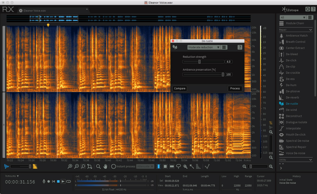 iZotope delivers RX 6 audio editor