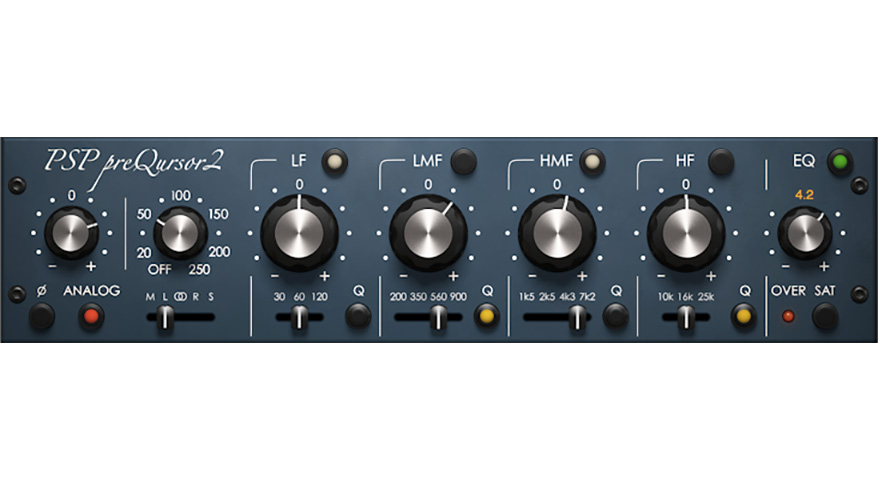 Introducing the all new PSP preQursor2 analog modeled EQ