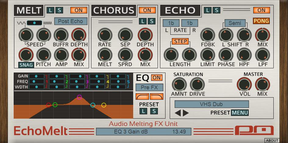 Psychic Modulation serves up EchoMelt audio melting plugin
