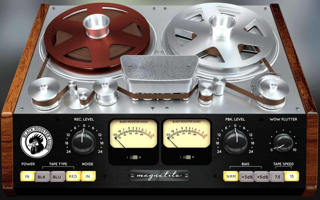 Black Rooster Audio warms up Magnetite tape emulation