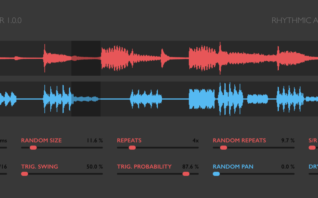Sinevibes releases Robotizer rhythmic audio granulator