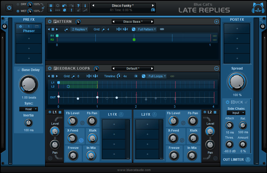Blue Cat Audio delivers Late Replies delay with hosting
