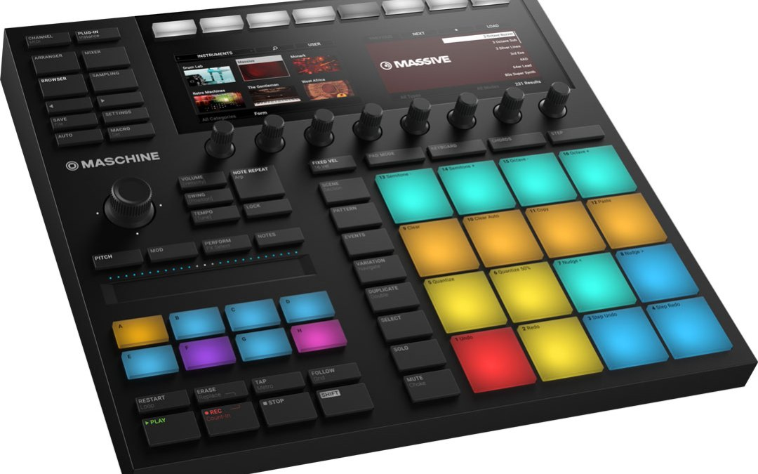 Native Instruments launches new Maschine & Komplete Kontrol