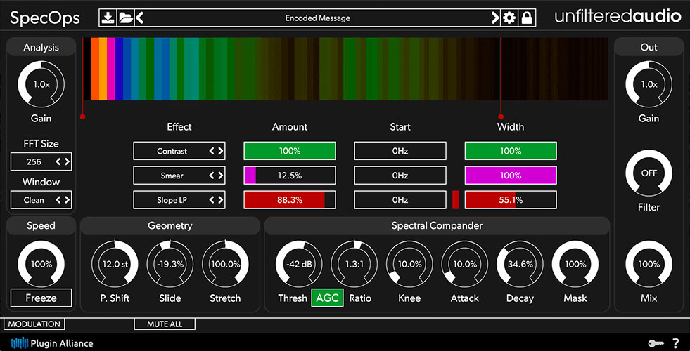 Unfiltered Audio SpecOps is a spectral slicing toolkit
