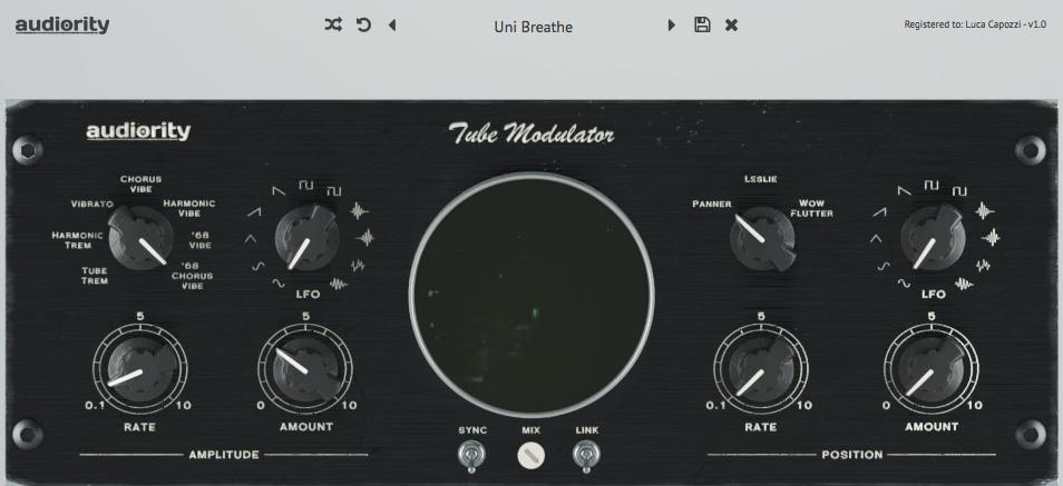 Audiority goes psychedelic with Tube Modulator plugin