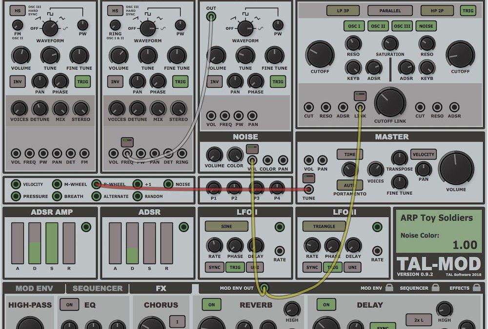 Togu Audio Line touts TAL-Mod virtual analog synth