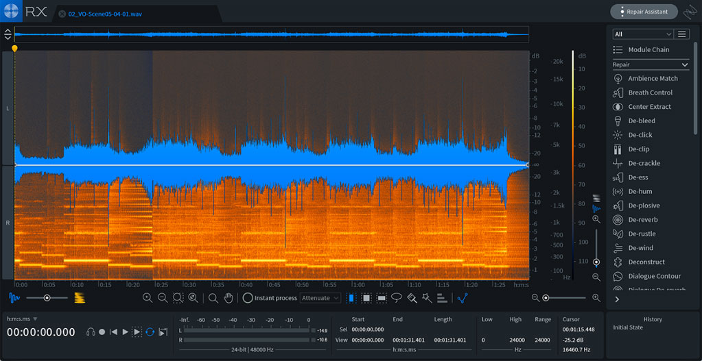 iZotope RX 7 makes audio repair easier for musicians