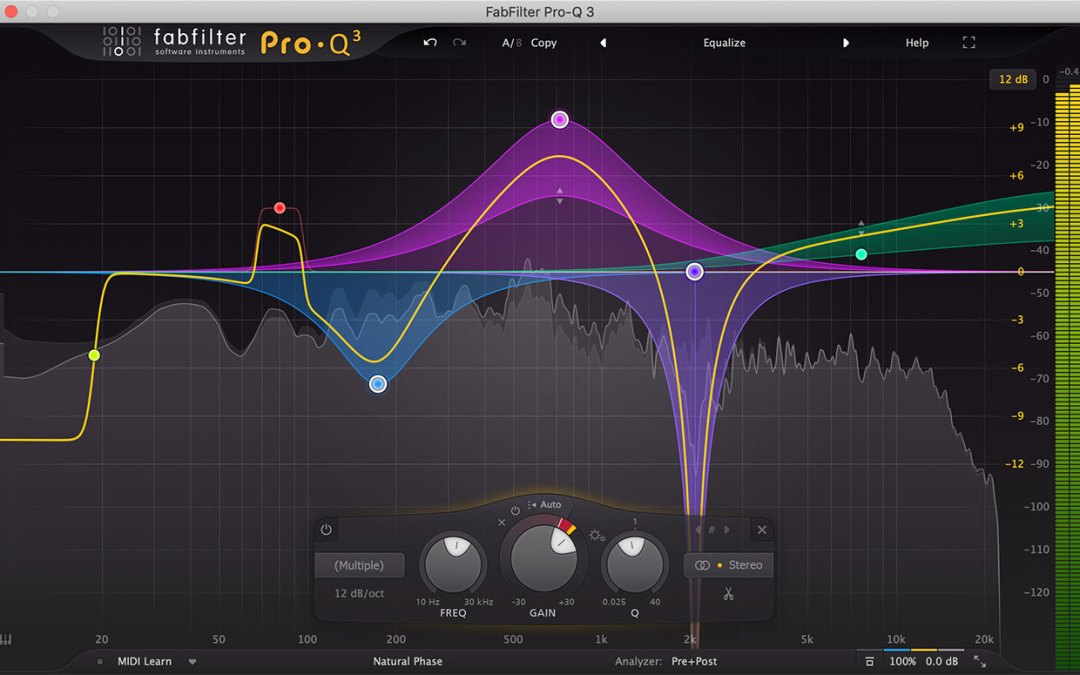 FabFilter releases Pro-Q 3 with dynamic EQ