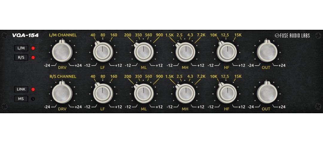 Fuse Audio Labs presents the VQA-154 American Vintage EQ