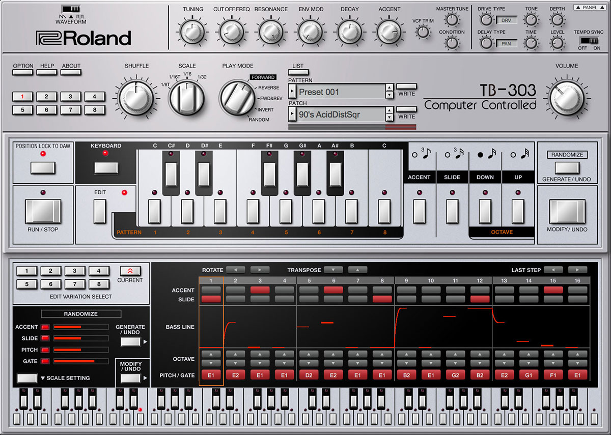 Roland Cloud reveals TB-303 plugin for 303 Day | macOS Audio