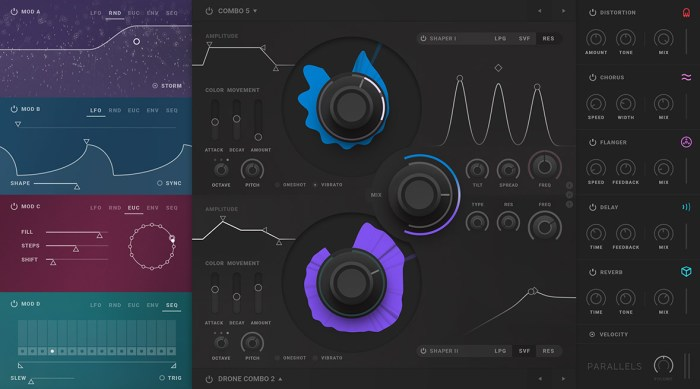 Softube presents Parallels dual-source dream synth