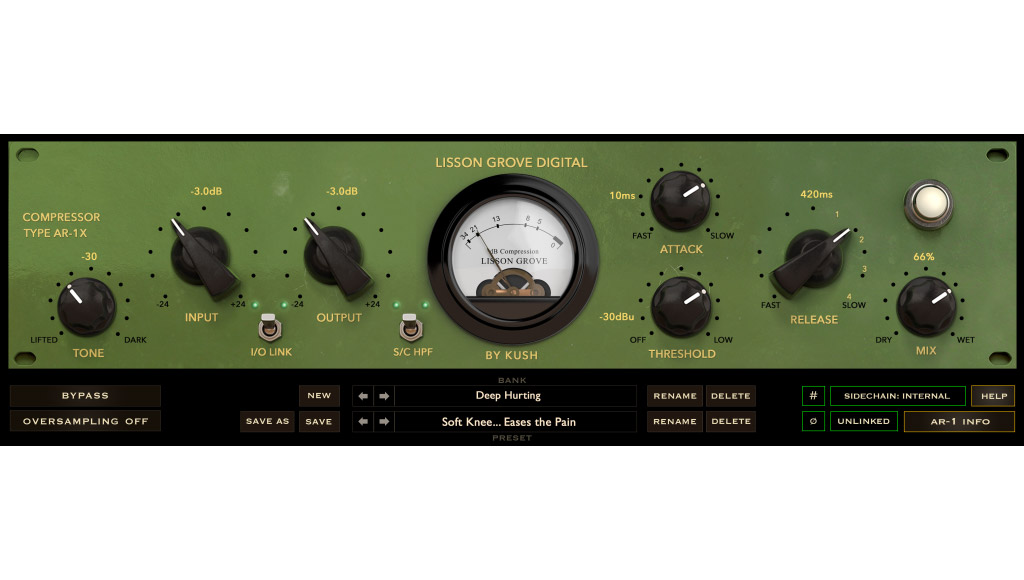 Kush unleashes AR-1 vintage mµ compressor
