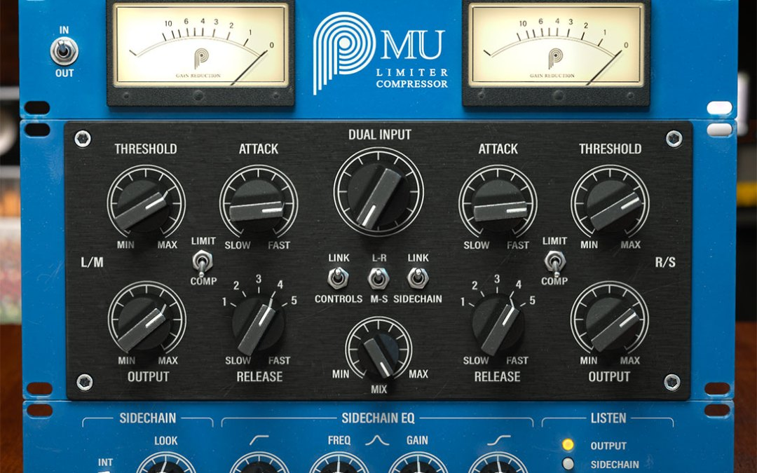 Pulsar Audio presents Mu, the ultimate glue compressor
