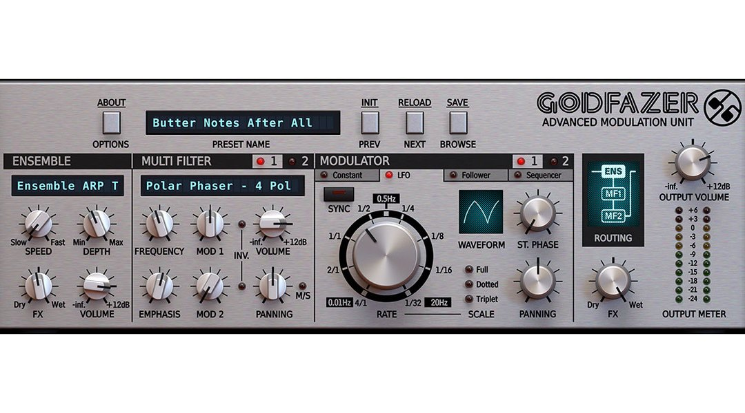 d16 Godfazer is a multi-modulation powerhouse