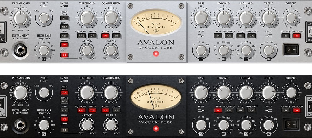 Universal Audio unveils Avalon VT-737 Tube Channel Strip plugin