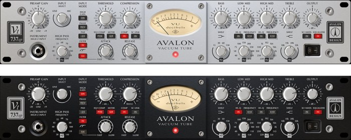 Universal Audio UAD Avalon VT 737sp
