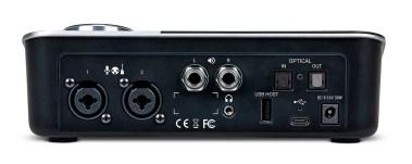 Apogee Symphony Desktop rear ports