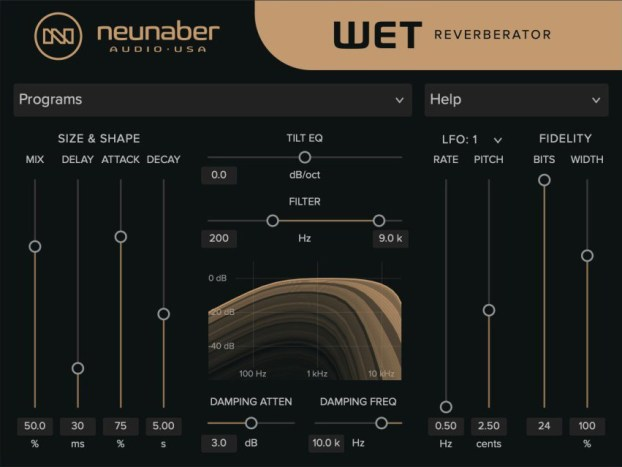Neunaber Audio Wet Reverberator
