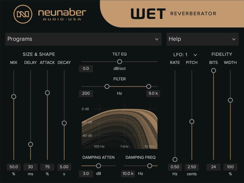 Neunaber Audio reveals Wet Reverberator plugin
