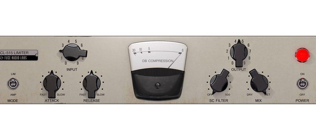 Fuse Audio Labs unveils VCL-515 vintage tube limiter