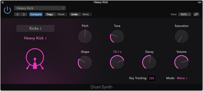 Apple Logic Pro X 10.5 - Drum Synth