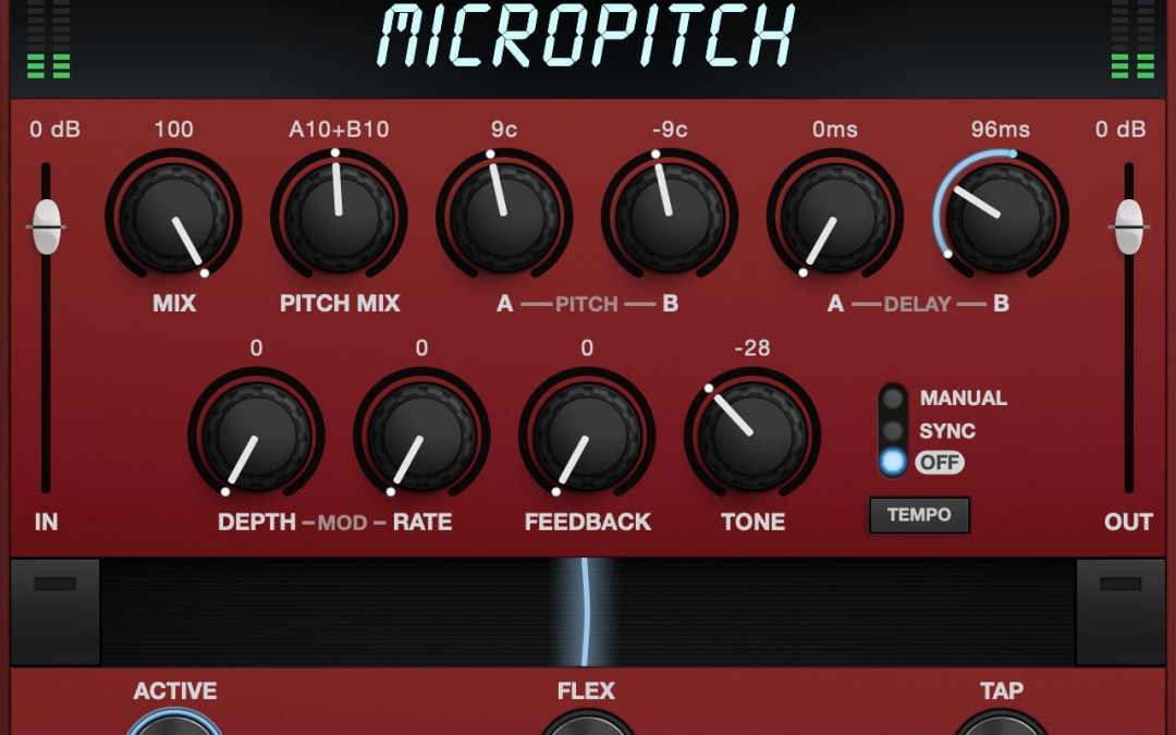 Eventide releases MicroPitch dual-voice pitch shifter plugin