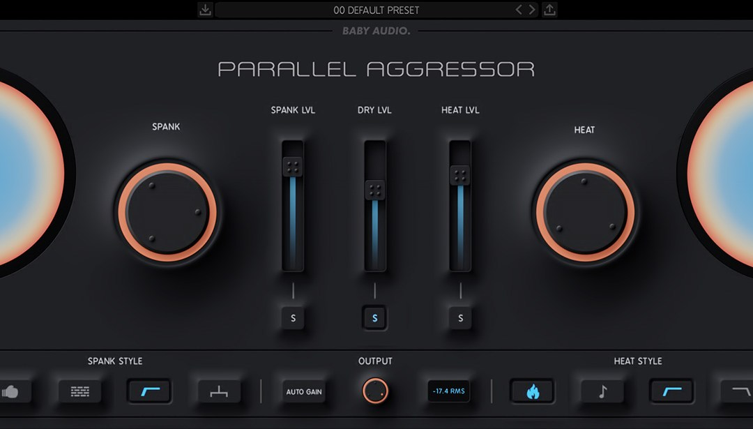 Baby Audio delivers Parallel Aggressor dynamics plugin