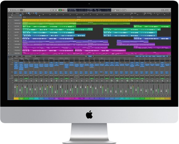 Apple iMac 2020 Logic Pro X