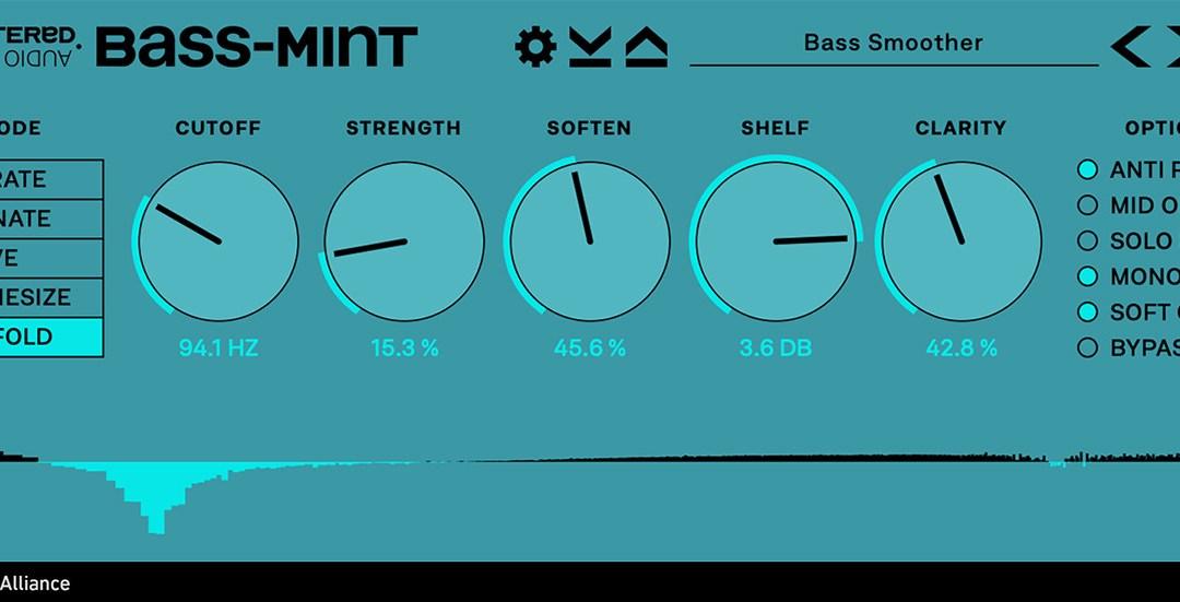 Plugin Alliance drops Unfiltered Audio Bass-Mint low-end enhancer
