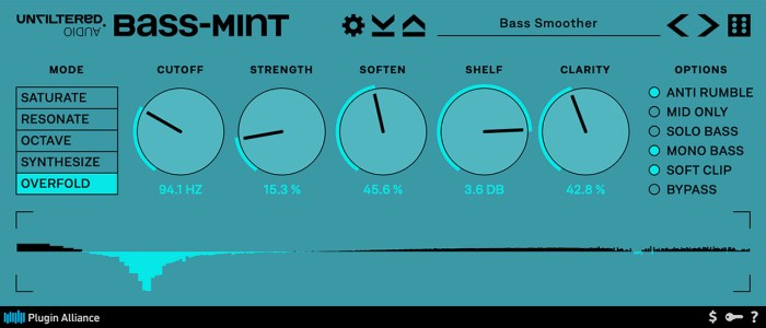 Plugin Alliance Unfiltered Audio Bass-Mint