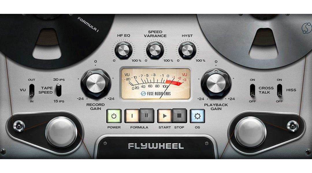 Fuse Audio Labs rolls out Flywheel tape emulation plugin