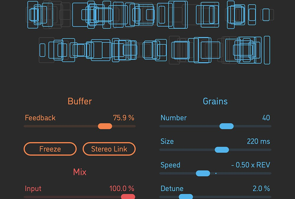 Sinevibes Albedo granular cloud reverb launches new lineup