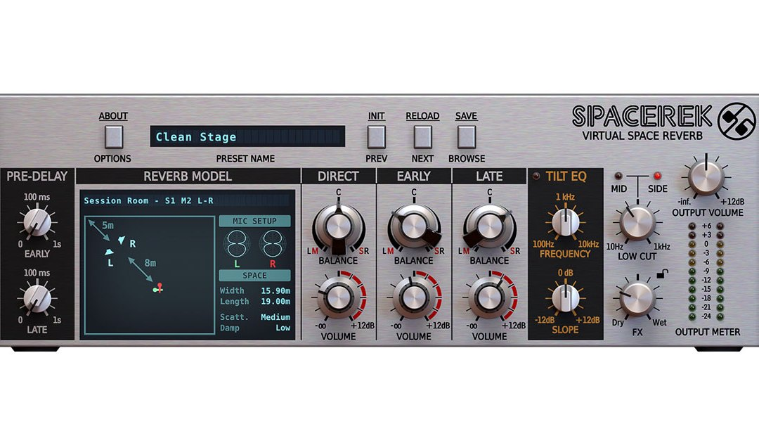D16 Group launches Spacerek reverb