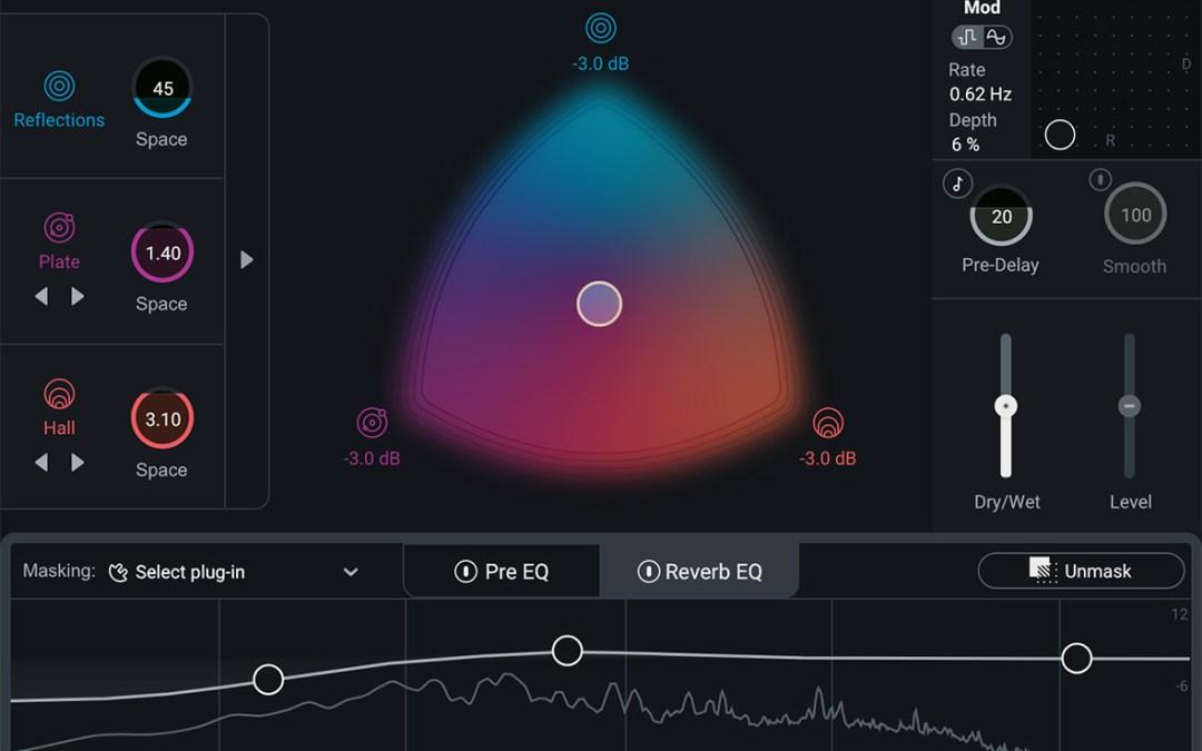 iZotope reveals Neoverb intelligent reverb