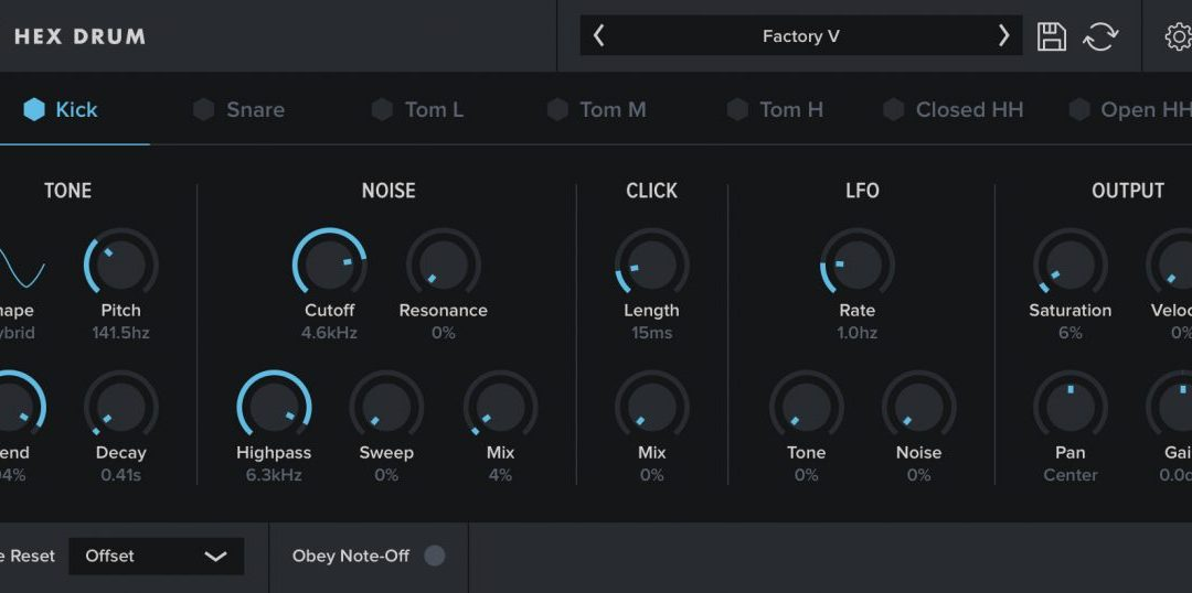 Oblivion Sound Lab launches Hex Drum synth