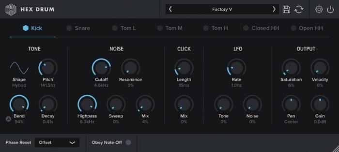 Oblivion Sound Lab Hex Drum