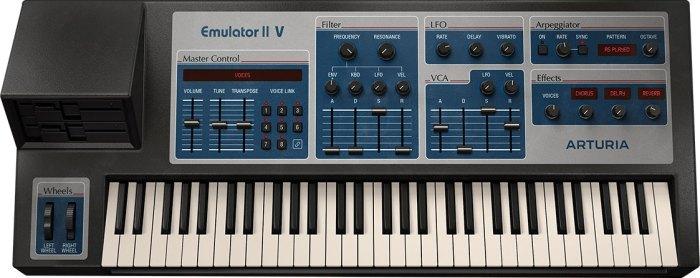 Arturia V Collection 8 - Emulator II V