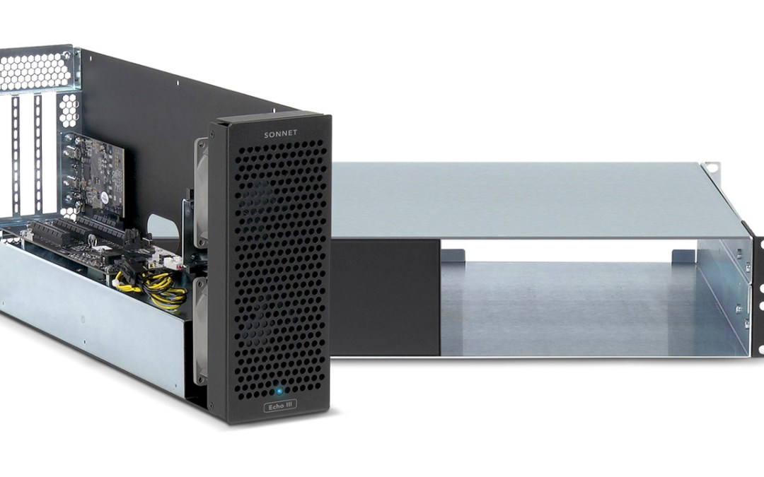 Sonnet unveils Echo III 3-slot Thunderbolt to PCIe chassis