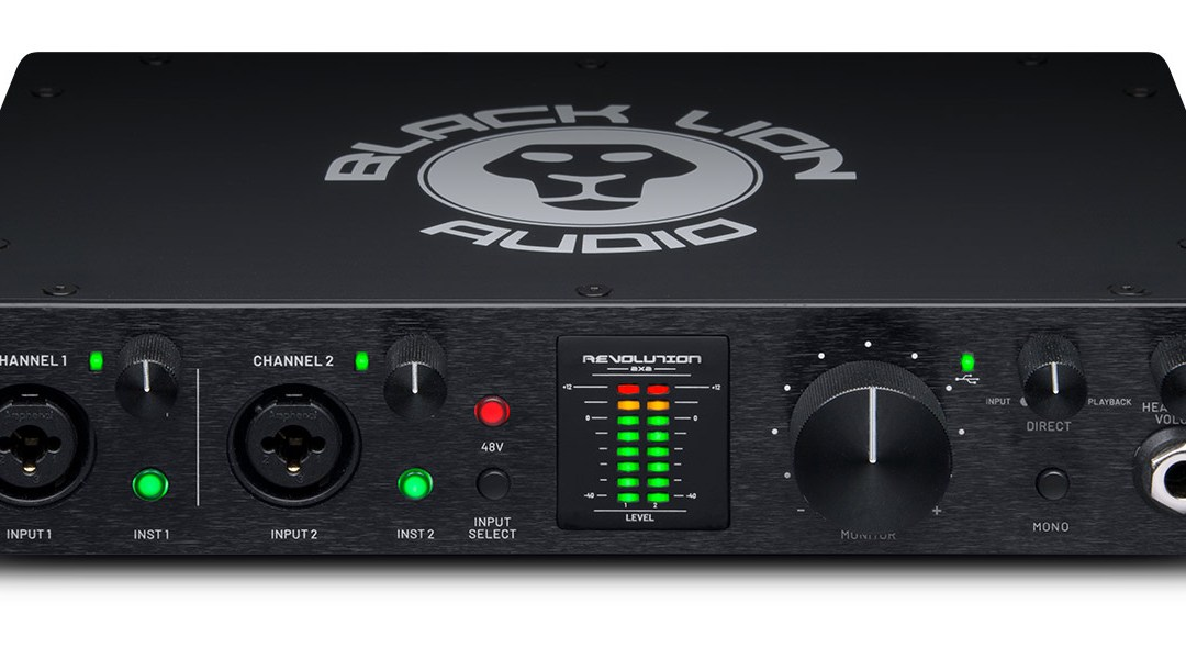 Black Lion Audio debuts Revolution 2×2 audio interface