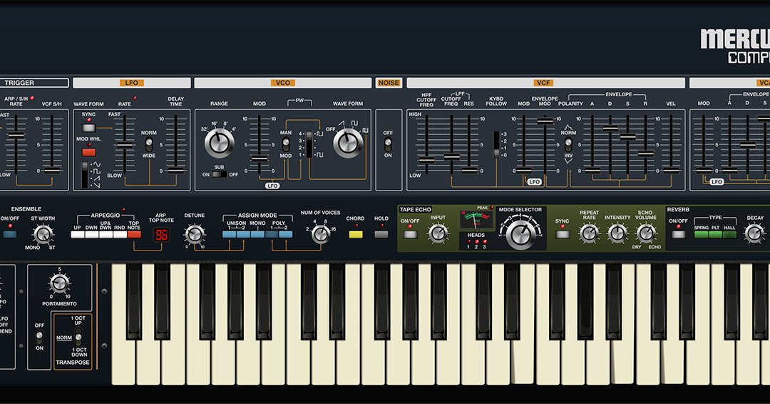 Cherry Audio launches Mercury-4 vintage synth