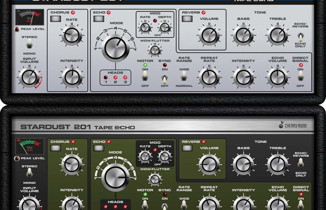 Cherry Audio explores space with Stardust 201 Tape Echo
