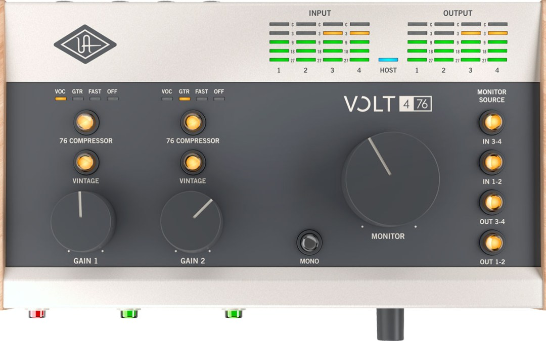 Universal Audio announces Volt USB audio interfaces