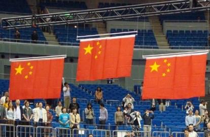 Flag raising system (for 2009 East Asian Games)