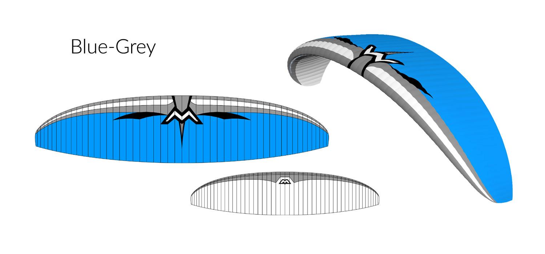 Blue-Grey Design Illusion