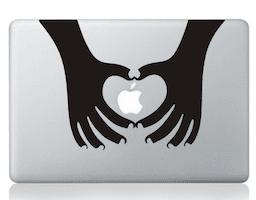 stickers mains macbook