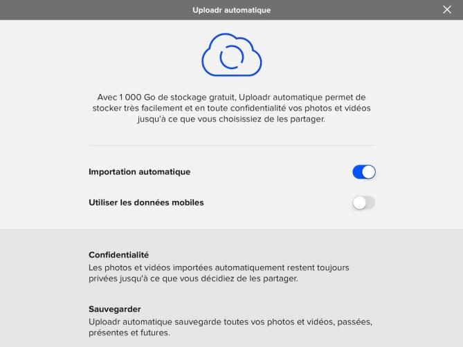 icloud flickr uploadr automatique