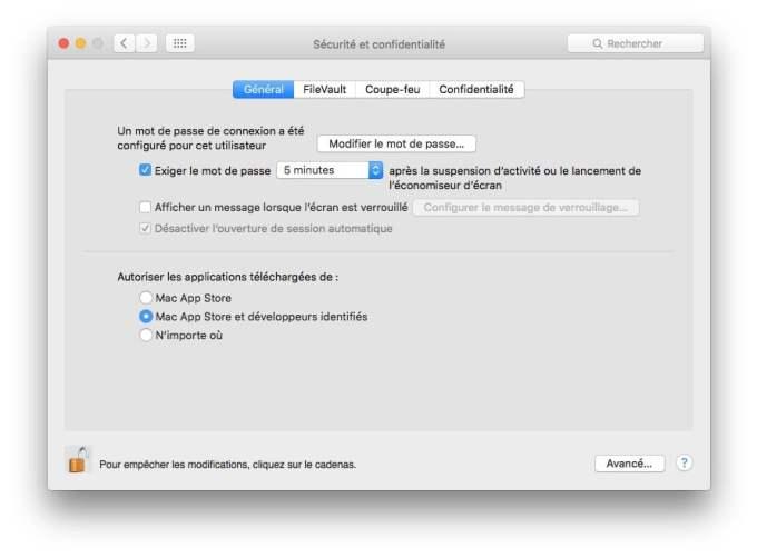 proteger son mac app store et developpeurs identifies