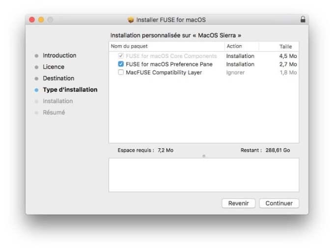 NTFS MacOS Sierra installer FUSE
