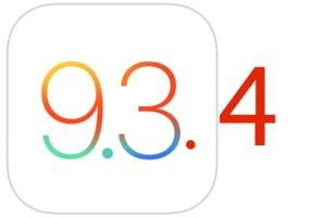 iOS 9.3.4 update