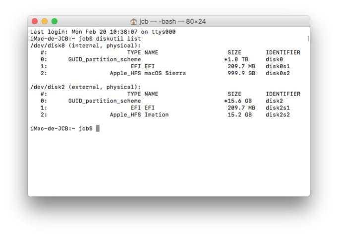 Formater son Mac en bas niveau avec le terminal